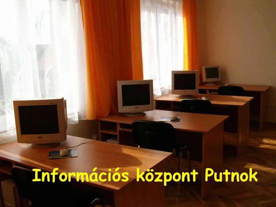 Információs központ Putnok