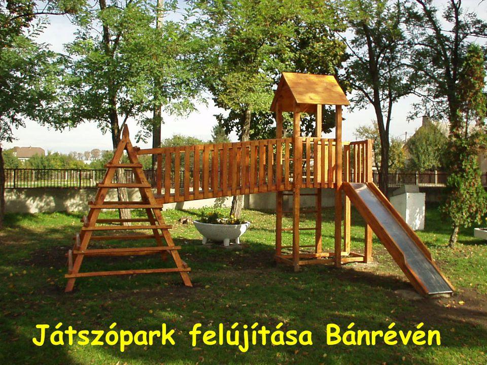 Játszópark felújítása Bánrévén