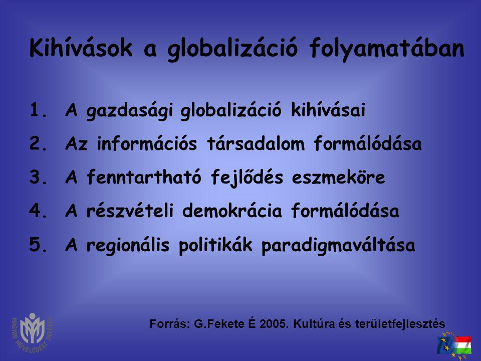 Kihívások a globalizáció folyamatában