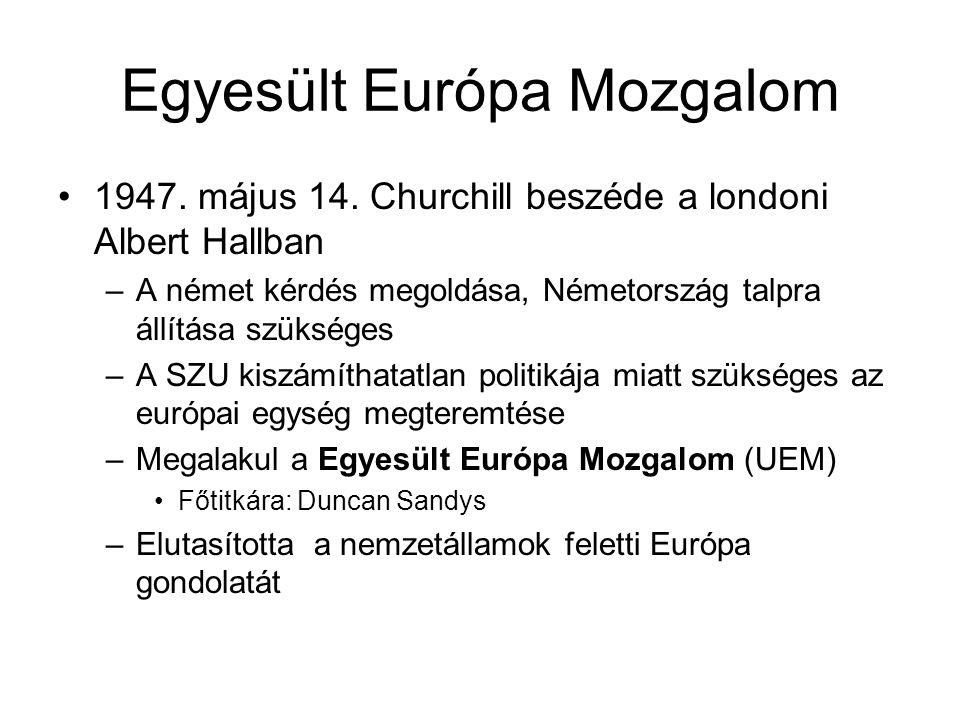 Egyesült Európa Mozgalom