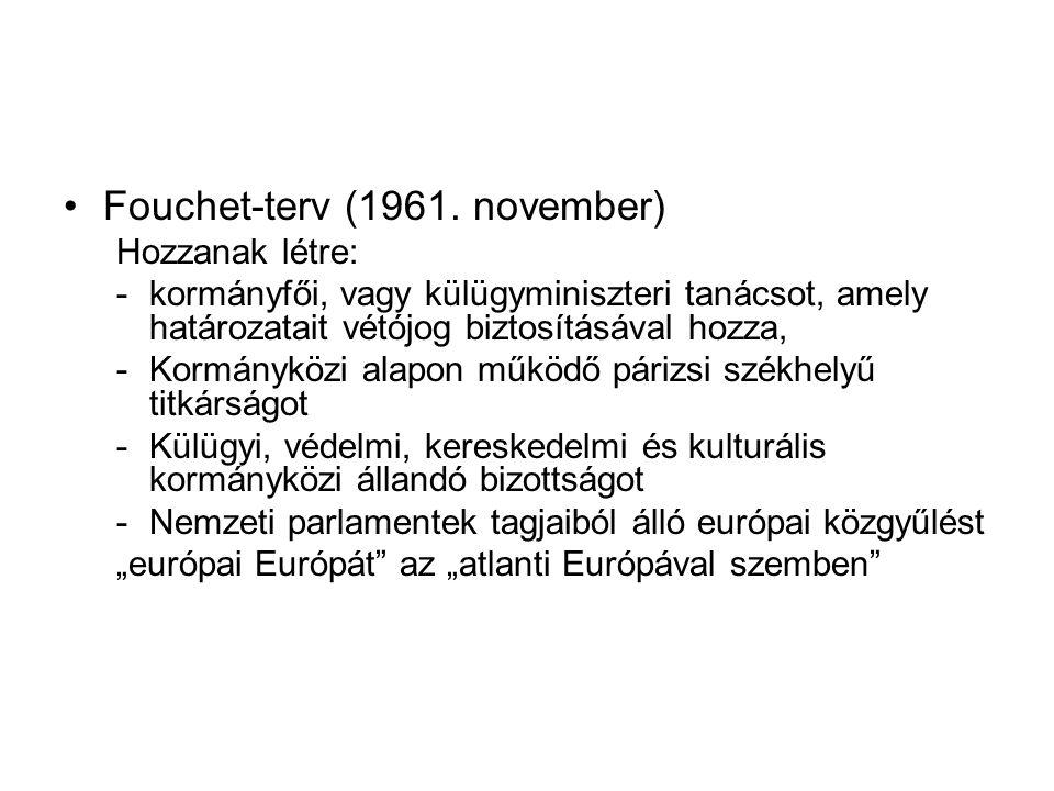 Fouchet-terv (1961. november)