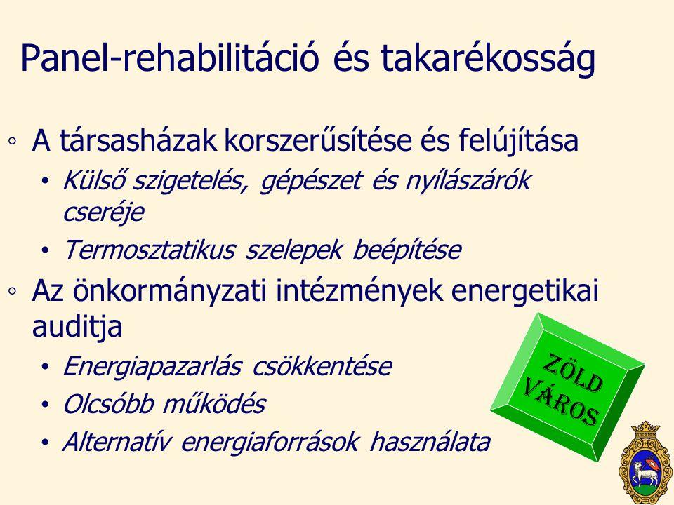 Panel-rehabilitáció és takarékosság