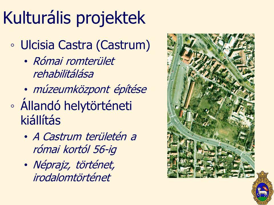 Kulturális projektek Ulcisia Castra (Castrum)