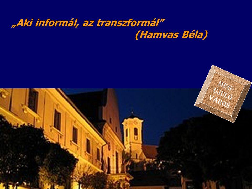 """""""Aki informál, az transzformál (Hamvas Béla)"""