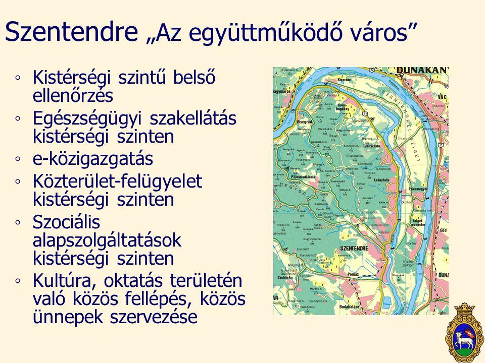 """Szentendre """"Az együttműködő város"""