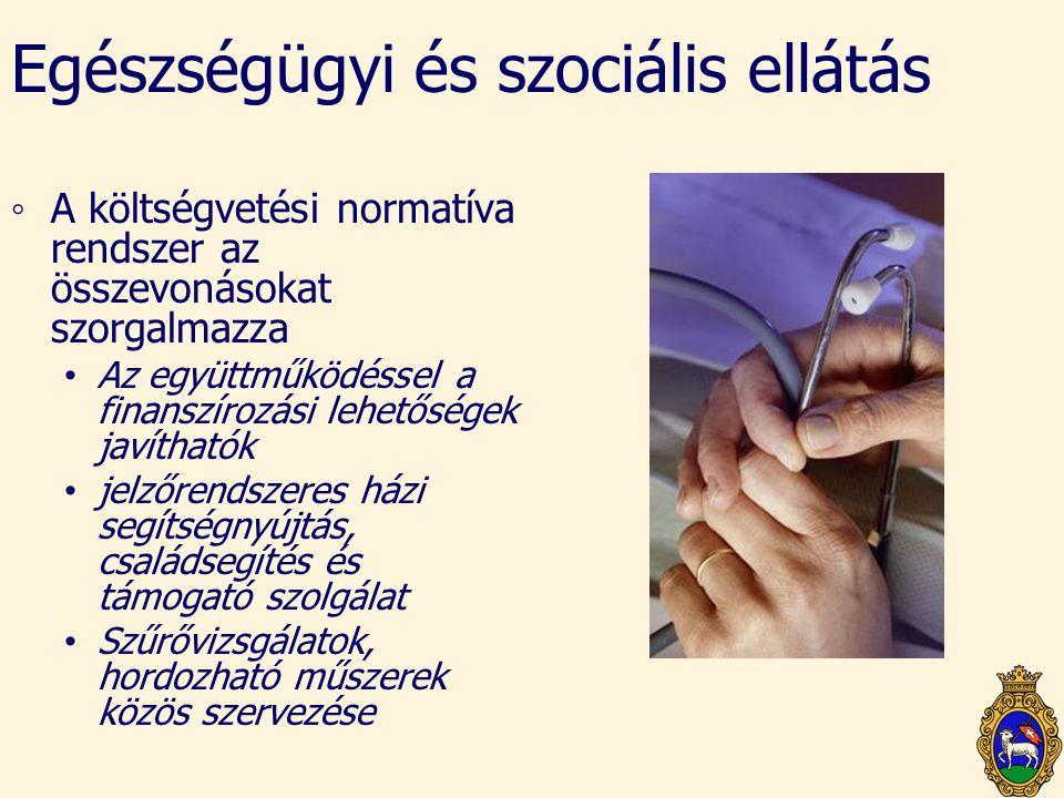 Egészségügyi és szociális ellátás