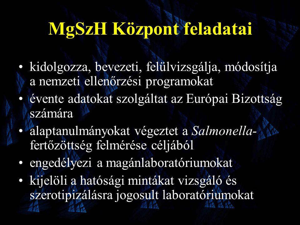 MgSzH Központ feladatai