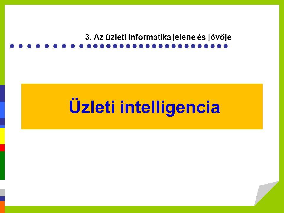 3. Az üzleti informatika jelene és jövője