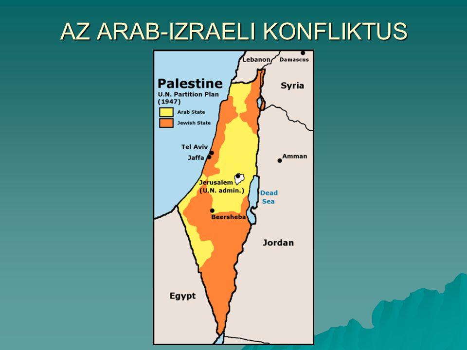 AZ ARAB-IZRAELI KONFLIKTUS