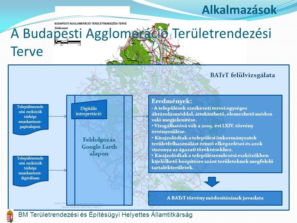A Budapesti Agglomeráció Területrendezési Terve