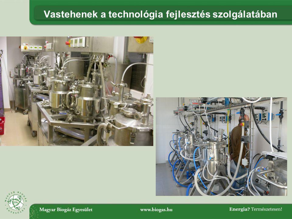 Vastehenek a technológia fejlesztés szolgálatában