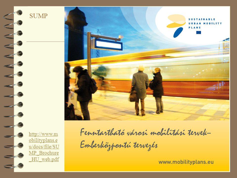 SUMP http://www.mobilityplans.eu/docs/file/SUMP_Brochure_HU_web.pdf