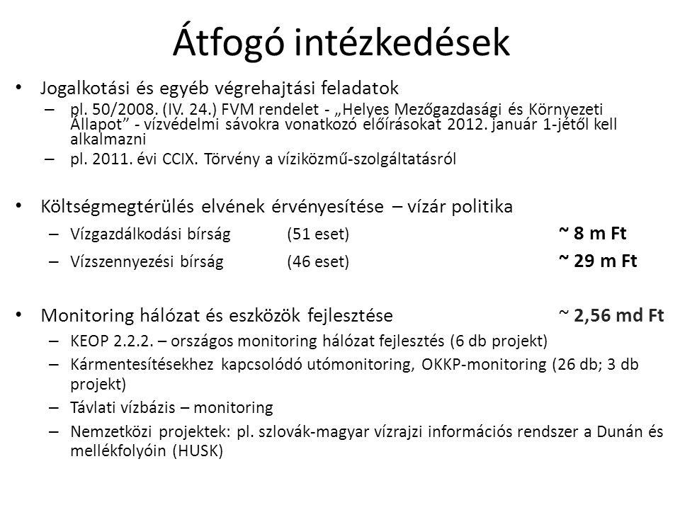 Átfogó intézkedések Jogalkotási és egyéb végrehajtási feladatok