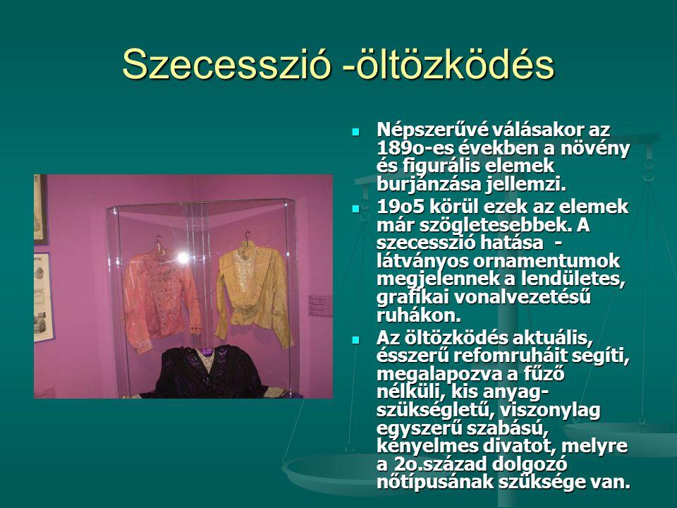 Szecesszió -öltözködés