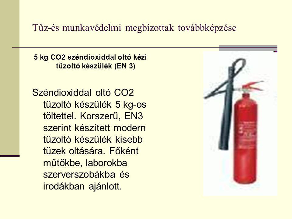 Tűz-és munkavédelmi megbízottak továbbképzése