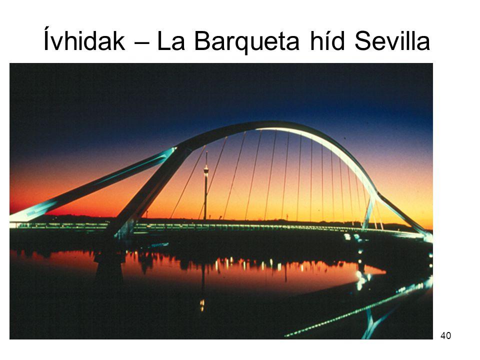 Ívhidak – La Barqueta híd Sevilla