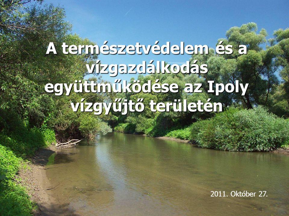 A természetvédelem és a vízgazdálkodás