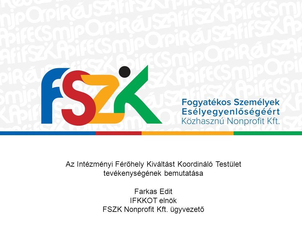 FSZK Nonprofit Kft. ügyvezető