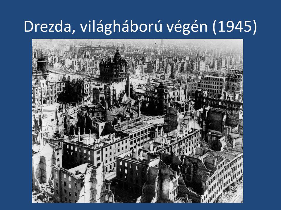 Drezda, világháború végén (1945)