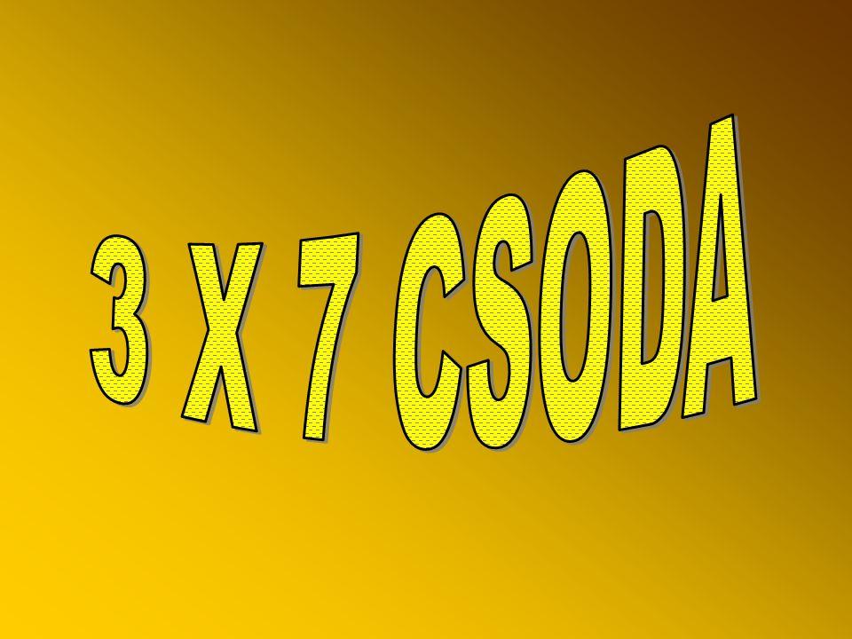 3 X 7 CSODA