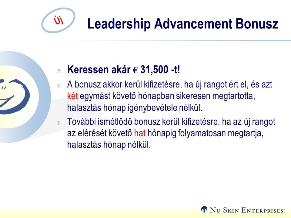 Leadership Advancement Bonusz