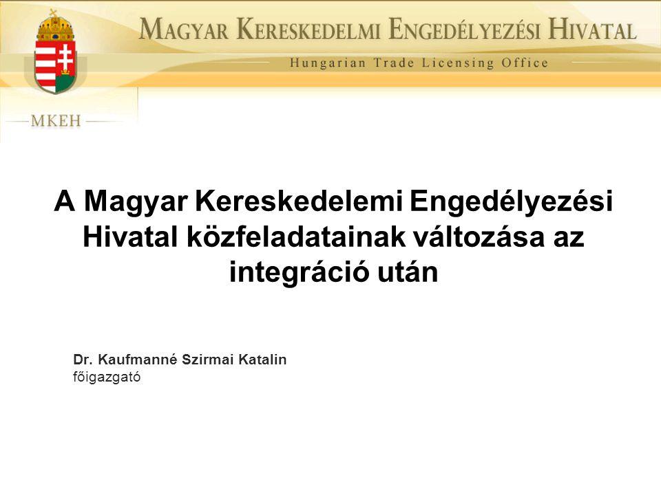 Dr. Kaufmanné Szirmai Katalin főigazgató