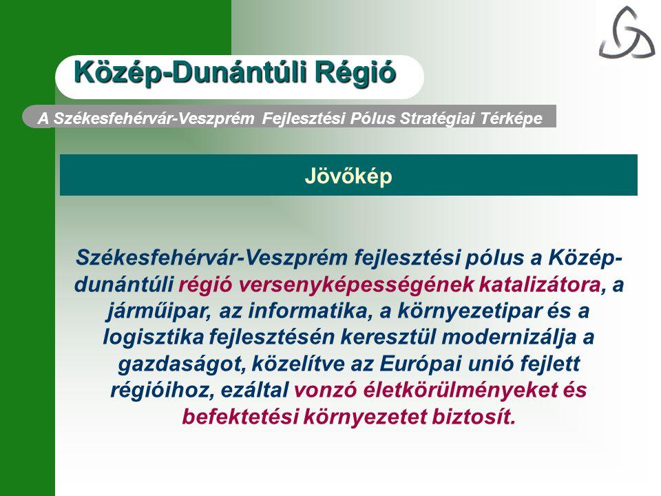 A Székesfehérvár-Veszprém Fejlesztési Pólus Stratégiai Térképe