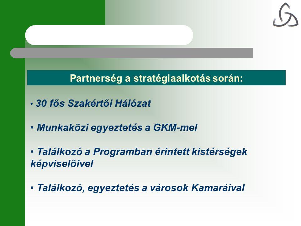 Partnerség a stratégiaalkotás során: