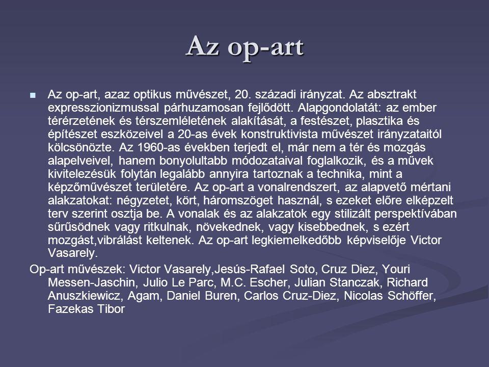 Az op-art