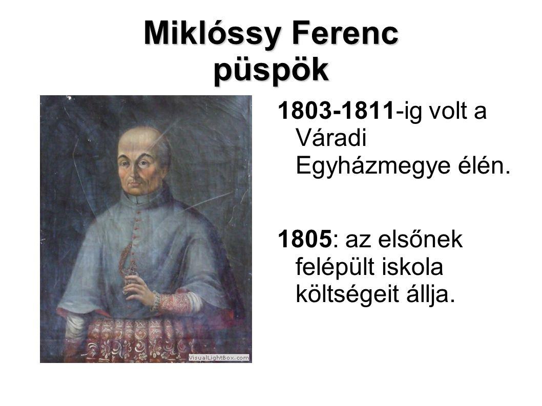 Miklóssy Ferenc püspök
