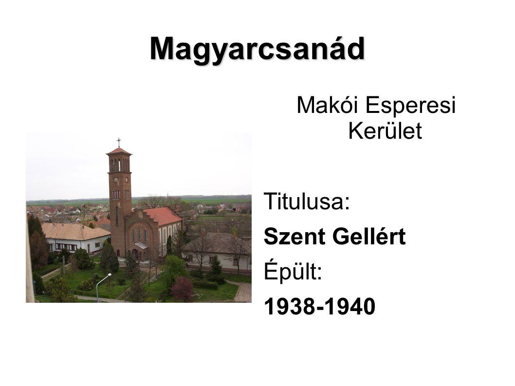 Makói Esperesi Kerület