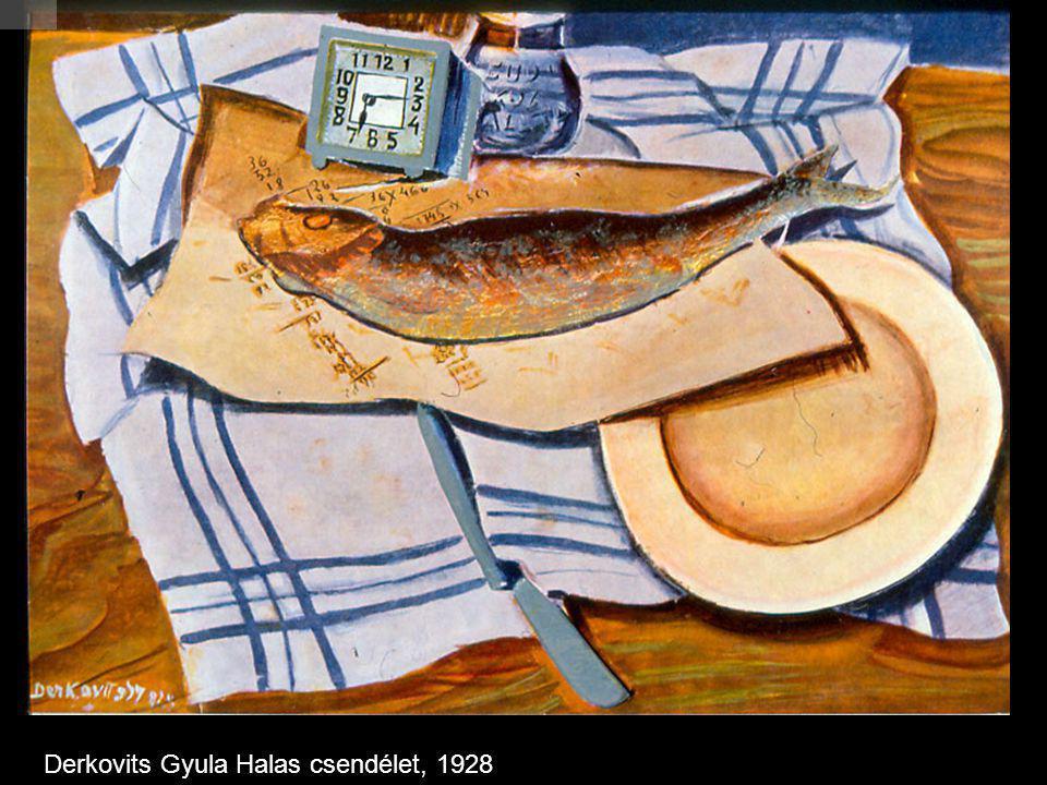 Derkovits Gyula Halas csendélet, 1928