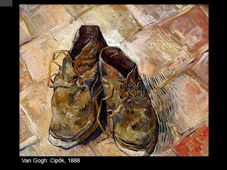 Van Gogh: Cipők, 1888