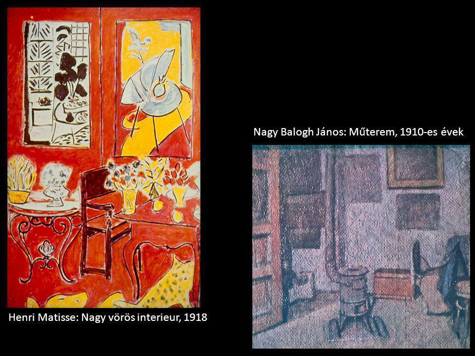 Nagy Balogh János: Műterem, 1910-es évek