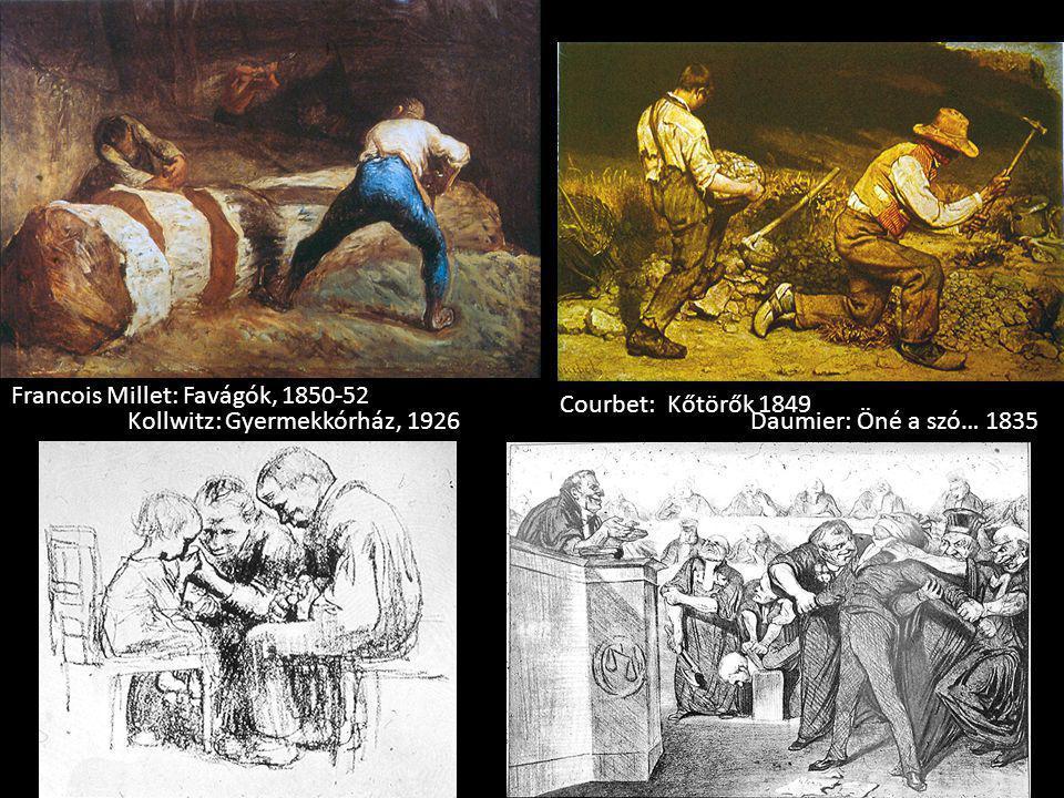 Francois Millet: Favágók, 1850-52