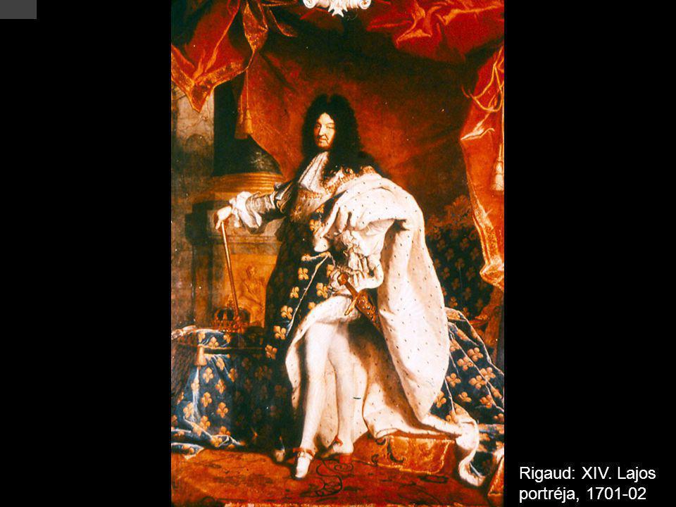 Rigaud: XIV. Lajos portréja, 1701-02