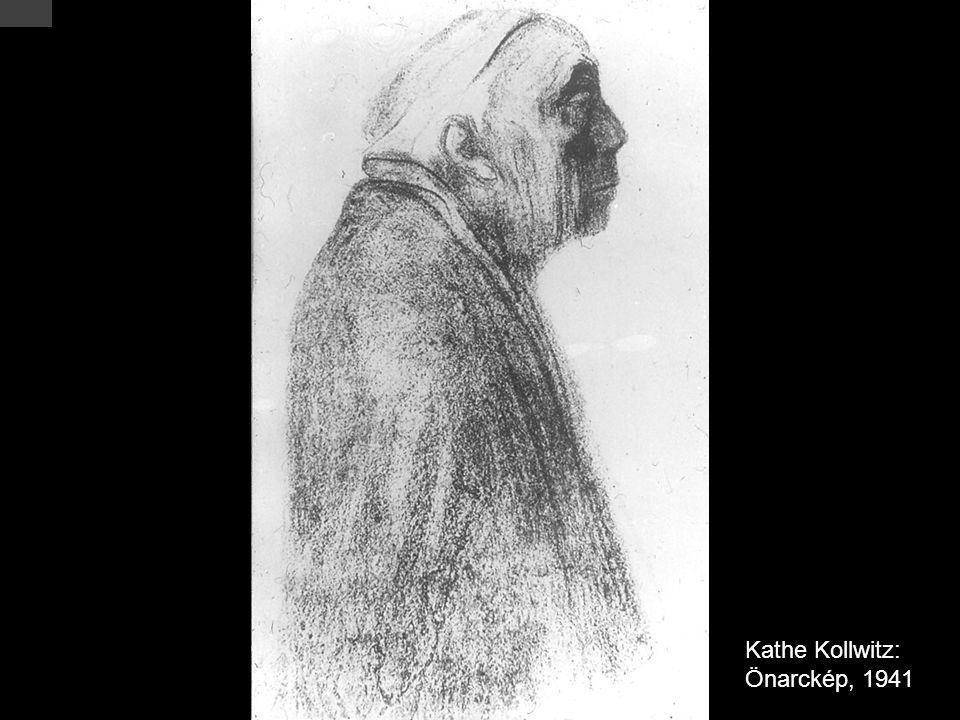 Kathe Kollwitz: Önarckép, 1941