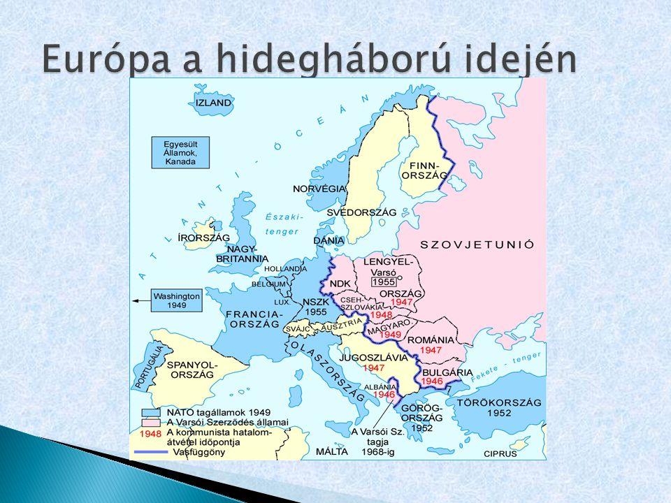 Európa a hidegháború idején