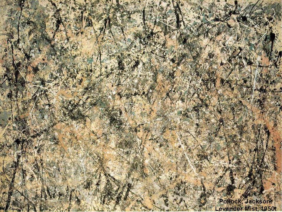 Pollock, Jackson: Levander Mist, 1950.