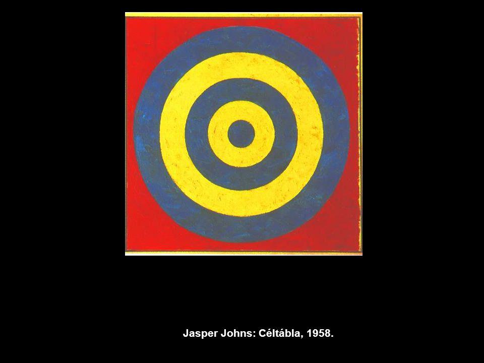 Jasper Johns: Céltábla, 1958.