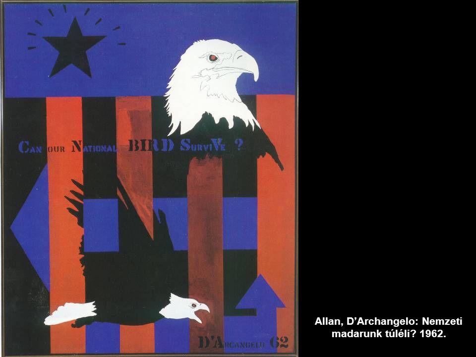 Allan, D'Archangelo: Nemzeti madarunk túléli 1962.