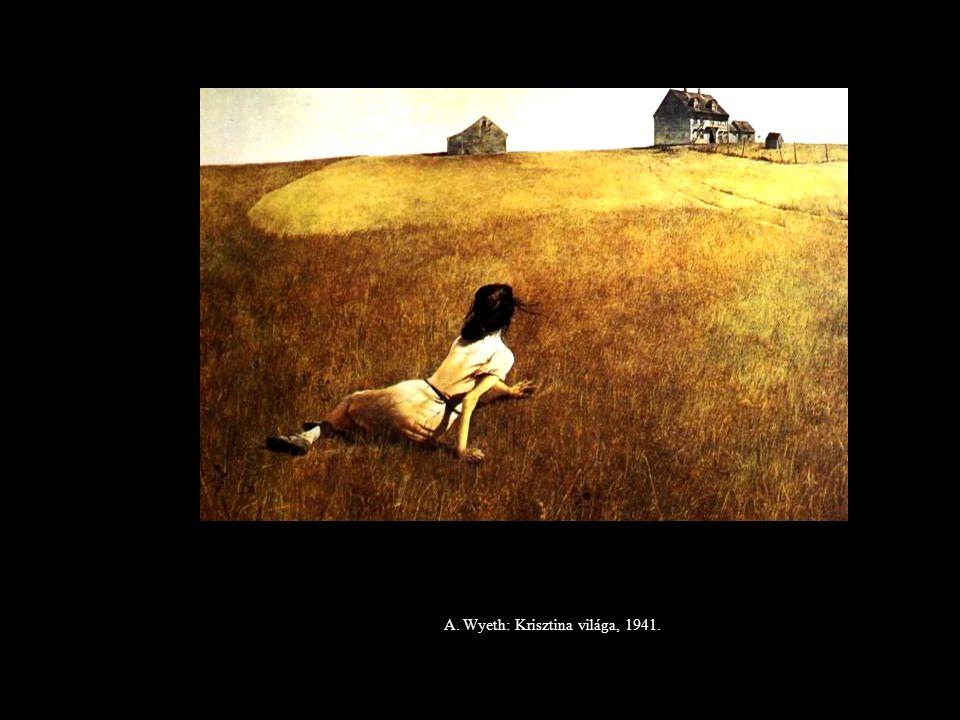 A. Wyeth: Krisztina világa, 1941.