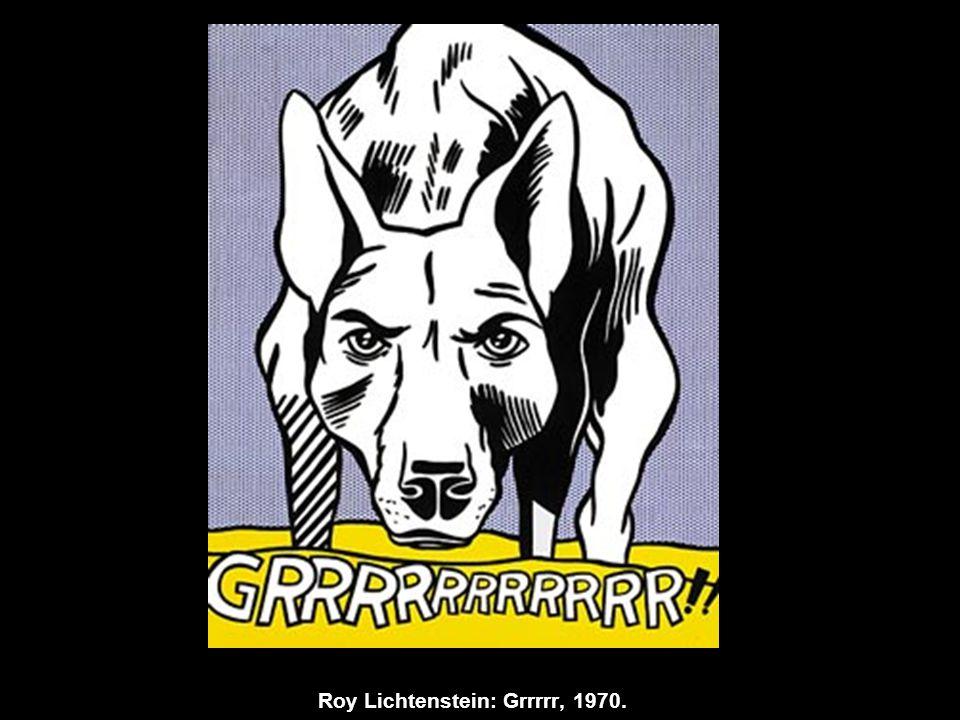 Roy Lichtenstein: Grrrrr, 1970.