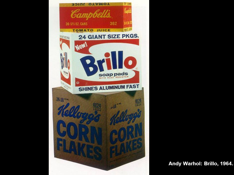Andy Warhol: Brillo, 1964.