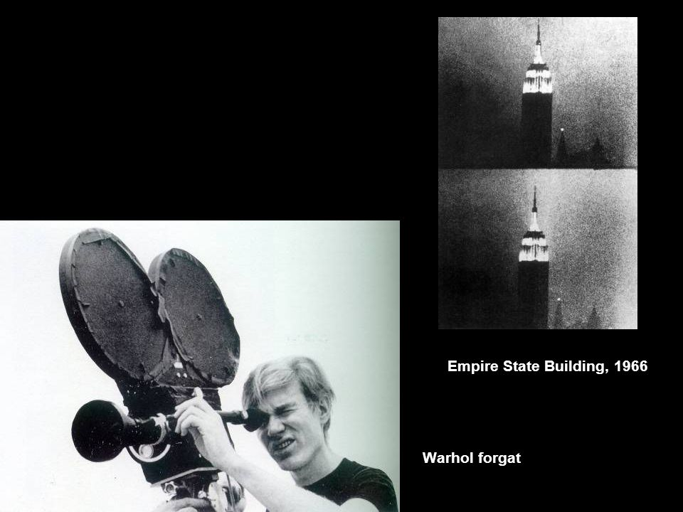 Empire State Building, 1966 Warhol forgat
