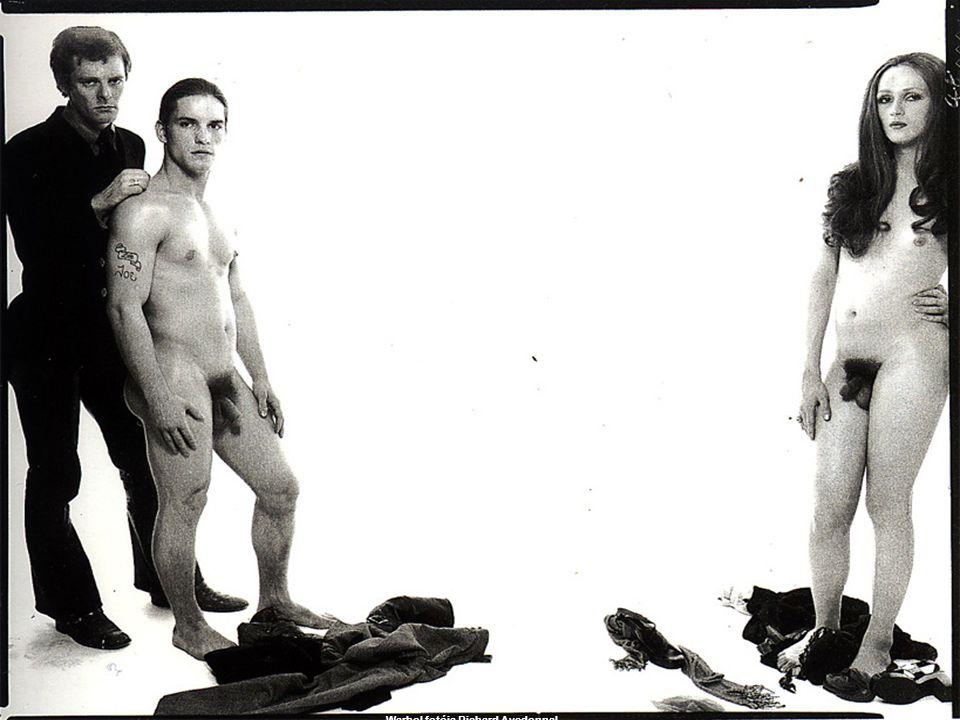 Warhol fotója Richard Avedonnal