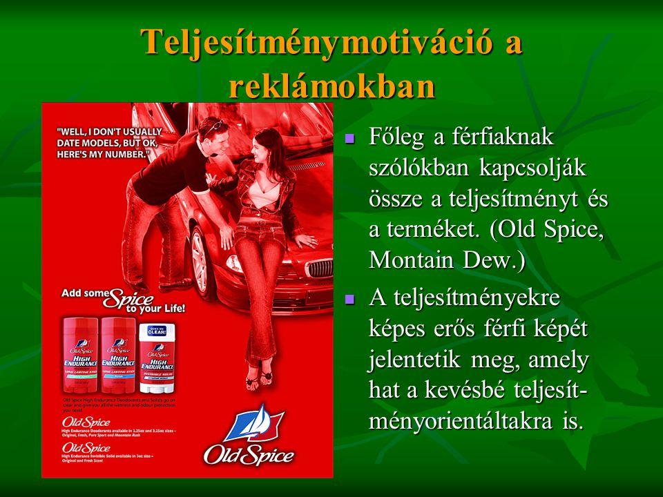 Teljesítménymotiváció a reklámokban