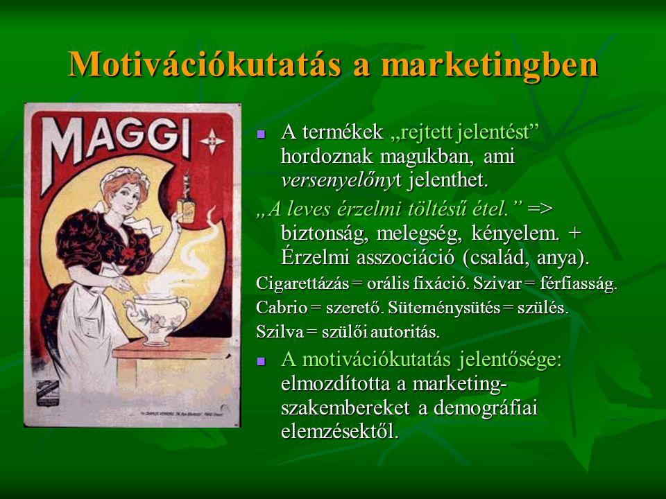 Motivációkutatás a marketingben