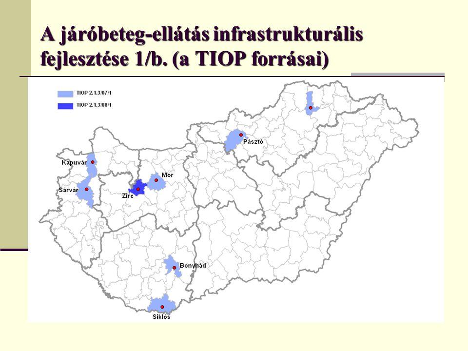 A járóbeteg-ellátás infrastrukturális fejlesztése 1/b