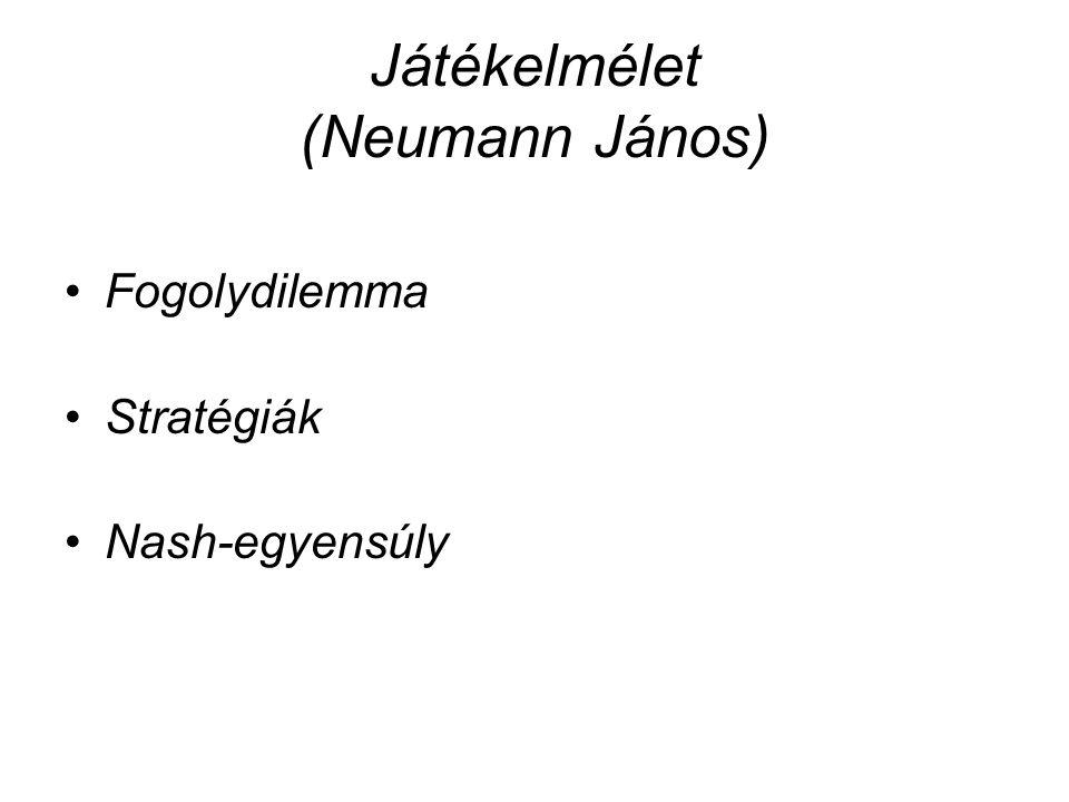 Játékelmélet (Neumann János)
